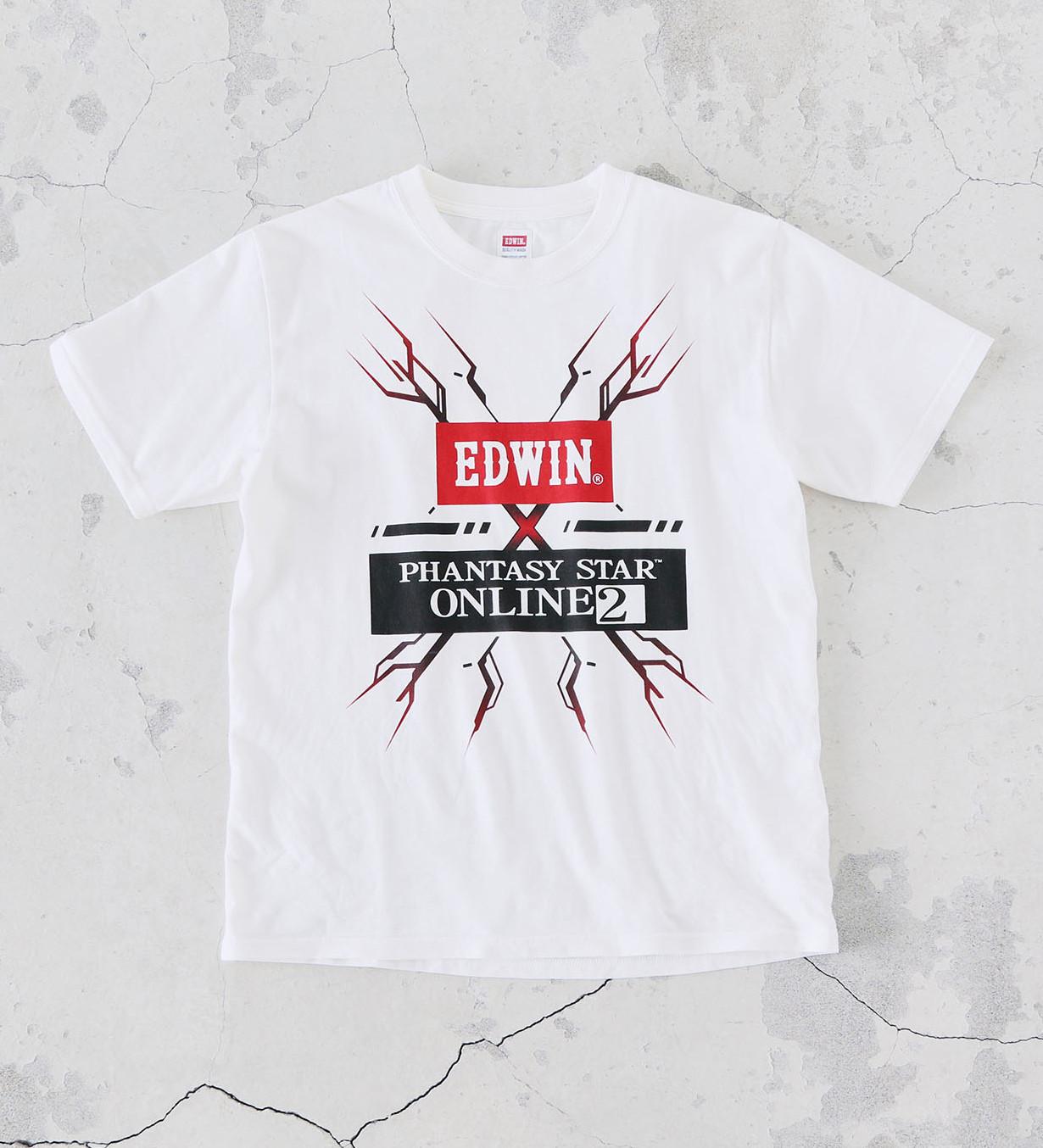 【EDWIN×PSO2】コラボTシャツ